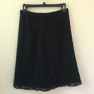 Banana Republic Lace A-Line Pencil Skirt
